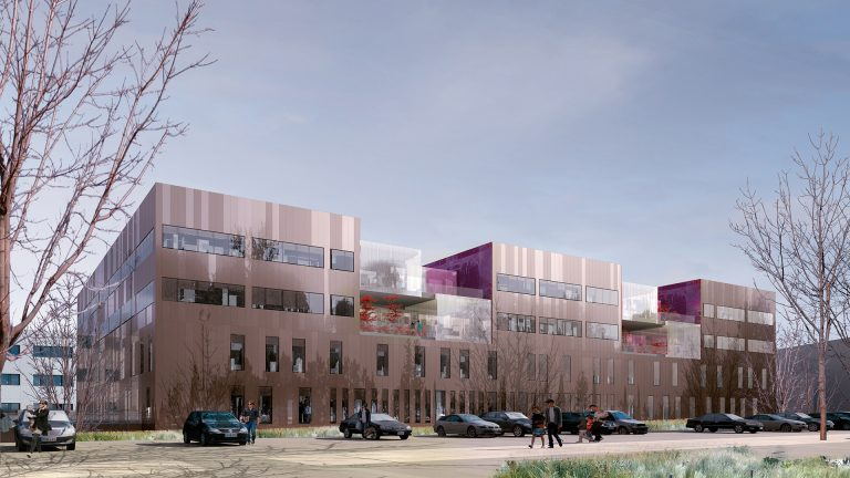 Institut r gional f d ratif du cancer chu de besan on for Architectes besancon
