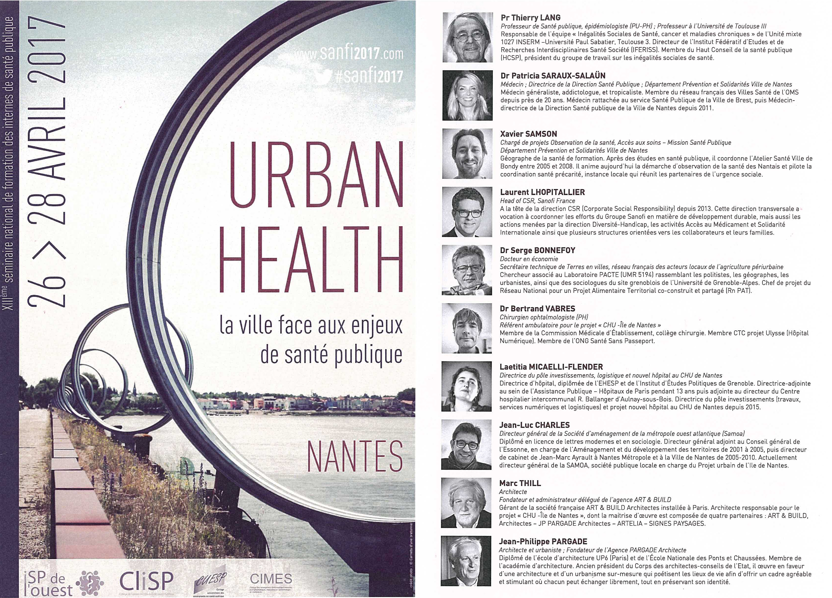URBAN HEALTH 170426-28_actu bis